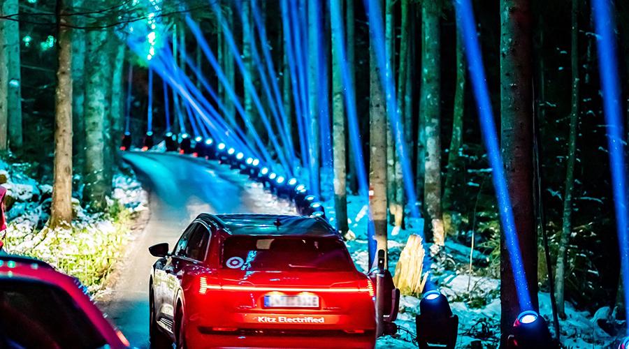 Proteus™ toughness at Audi e-tron Experience, Kitzbühel, Austria