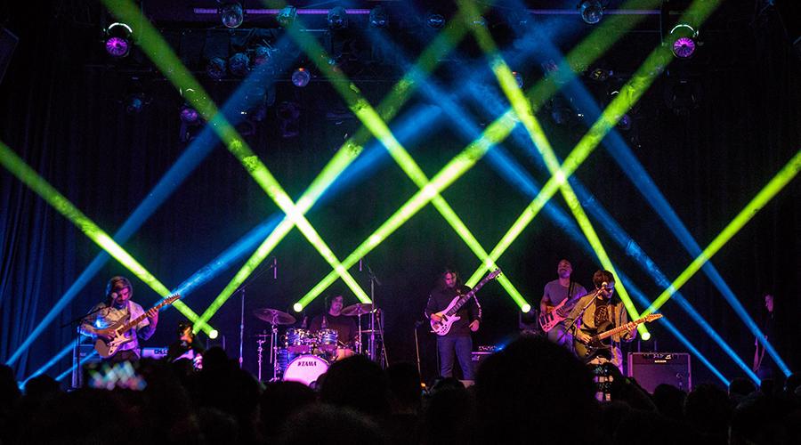 Squeek Lights and Elation DARTZ™ for Chon Summer Tour