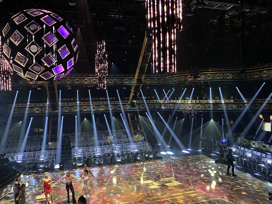 Elation DARTZ™ makes the cut on Dancing with the Stars