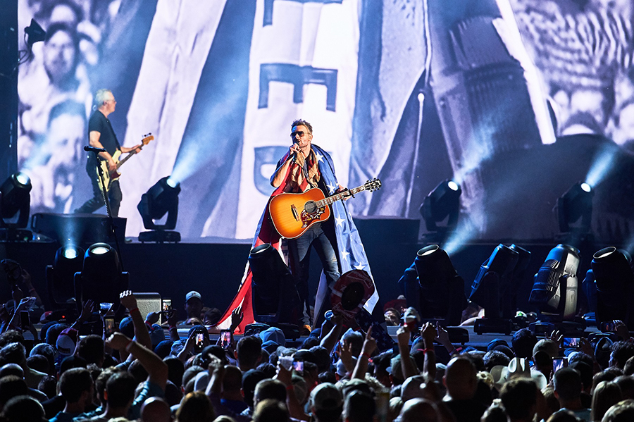 Proteus peace of mind at Eric Church record-breaking Nashville concert