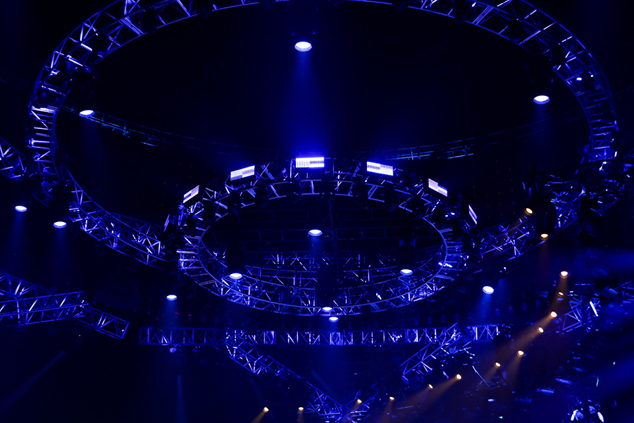 LD Systems light Houston Livestock Show and Rodeo concerts with Elation