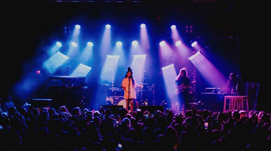 Elation pixel creativity for Jessie Reyez -Being Human On Tour
