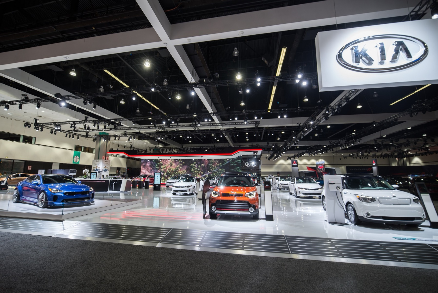 Elation Fuze Wash Highlights Kia Booth At LA Auto Show - When is the la car show