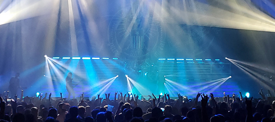Steve Stemac lights metal rockers Lamb of God with Elation