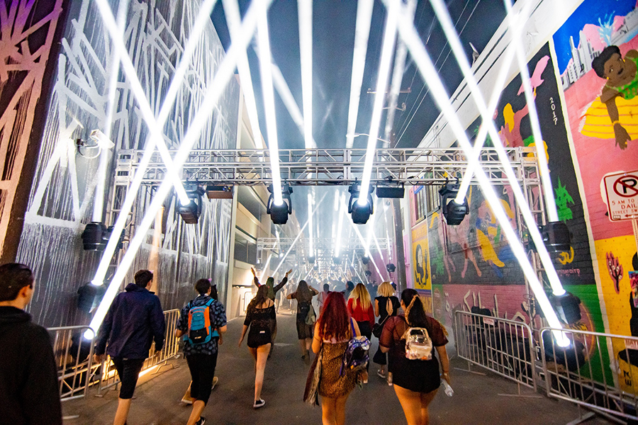 Alluring Proteus™ Draws a Crowd at Life is Beautiful Festival