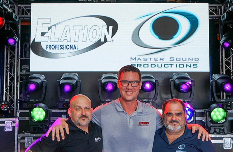 Master Sound Productions of South Florida Invests in Elation IP65