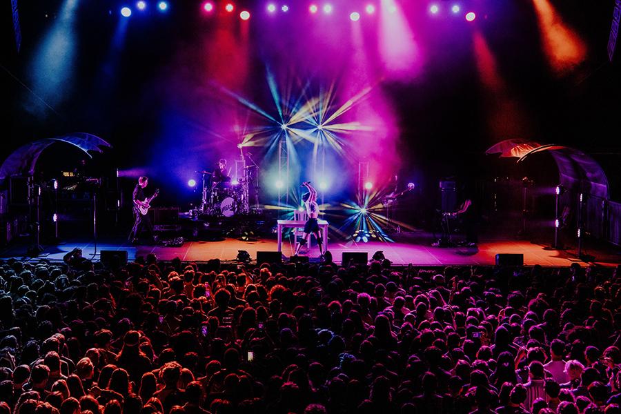 "Mitski ""Be the Cowboy"" Tour with Elation Lighting"
