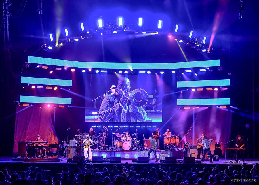 "Elation Lights for Santana's ""Supernatural Now"" U.S. Tour"