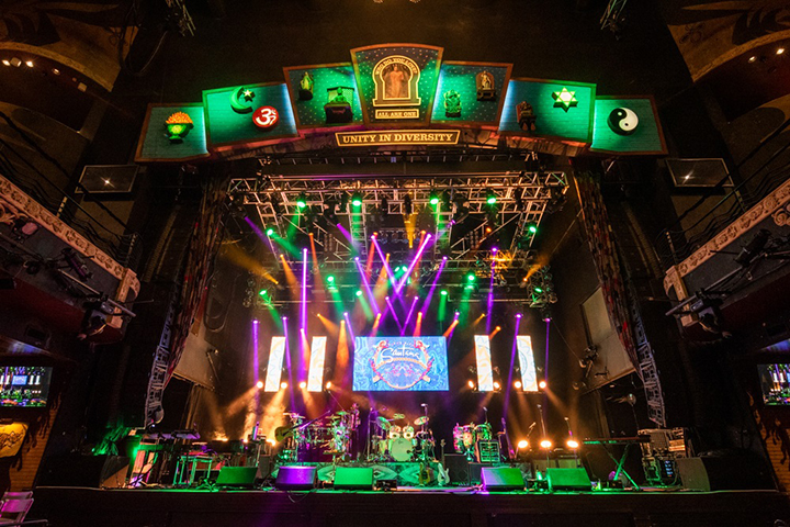 Michael Ledesma uses Elation for Santana House of Blues residency