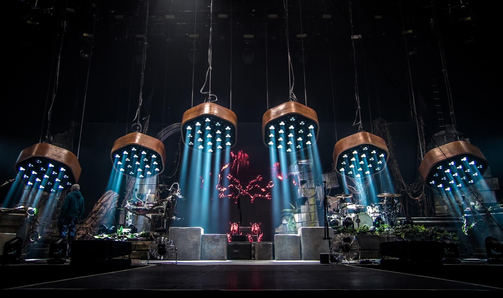 Elation Lighting Rig For Shaka Ponk 2018 Monkadelic Tour