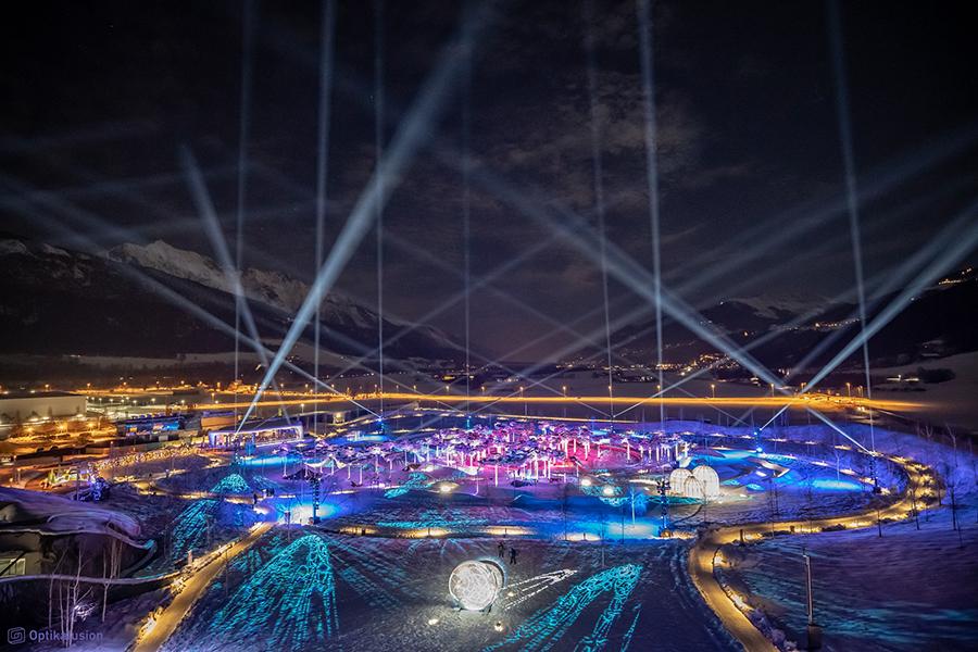 Festival of Light at Swarovski Crystal Worlds