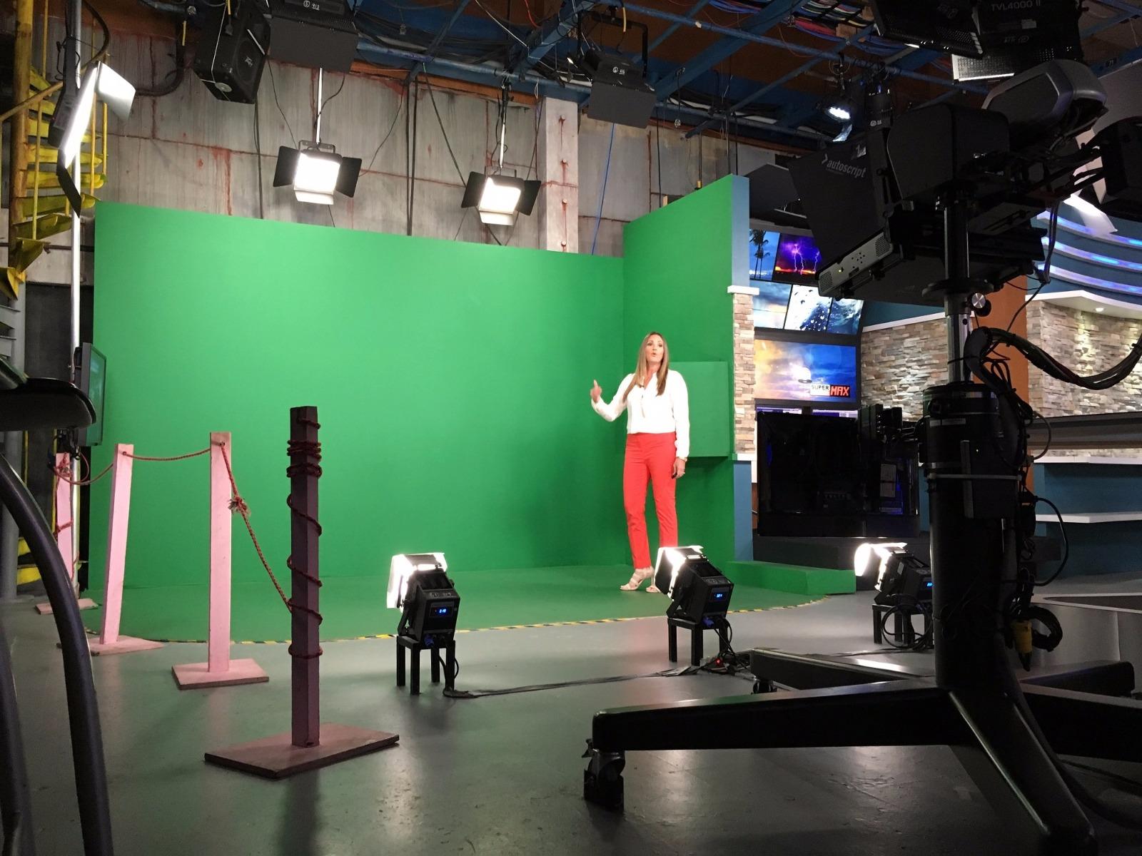 Wapa Tv Studios In Puerto Rico Broadcast Pioneers With