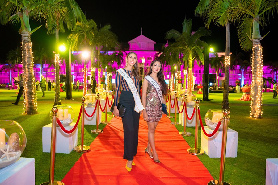 Elation indoors and out for 2019 World Travel Awards in Mauritius - red carpet
